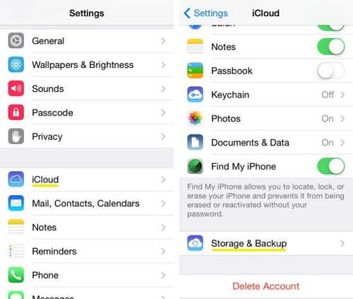Sauvegarder la musique sur iCloud manuellement