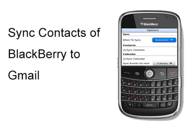 BlackBerry Gmail