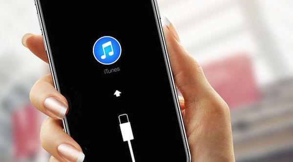 iPhone Xで回復モードにブートする