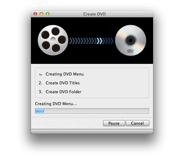 Graver un diaporama sur un DVD
