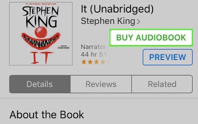 Hörbücher auf dem iPhone kaufen