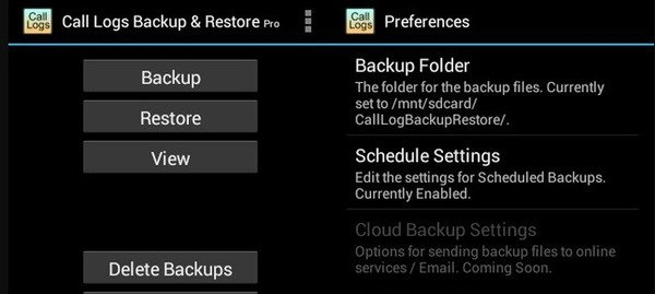 How to Backup Call Log on Android with Best Apps