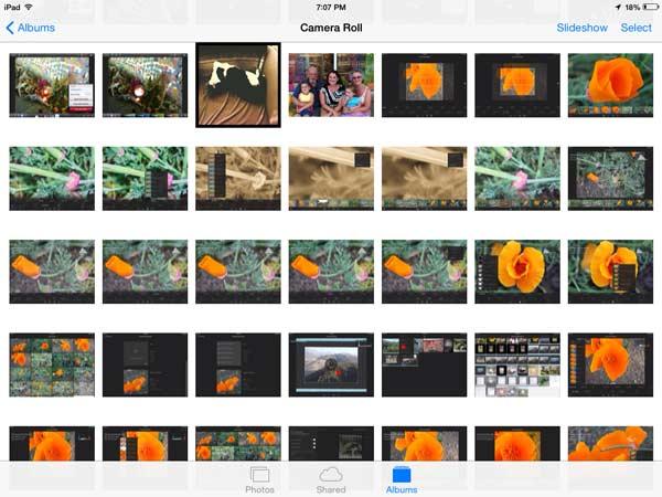 Heruntergeladene Bilder löschen