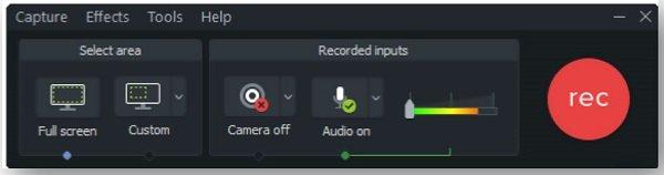 Camtasia-Bildschirmaufzeichnung