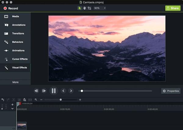 Camtasia-Videobearbeitungsressourcen
