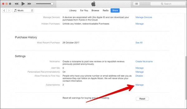 Annuler l'abonnement Mac