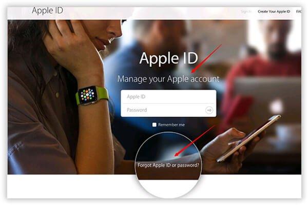 Ändern Sie die Apple ID