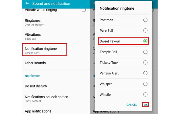 How to Change and Customize Notification Sound on Android and iPhone