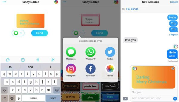 4 Free Ways to Change Text Message Backgrounds on iPhone/Samsung
