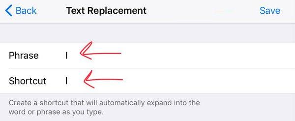 Remplacement de texte