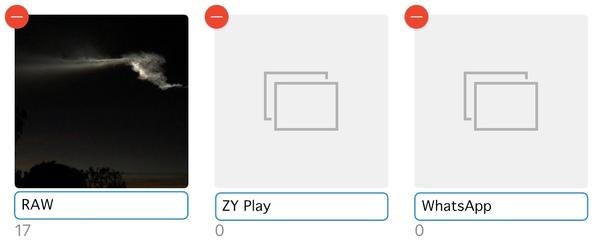Changer le nom de l'album sur iPhone