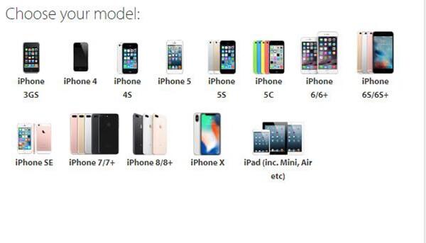 Choisissez le modèle