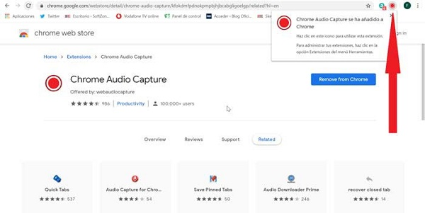 Chrome Audio Capture Tool