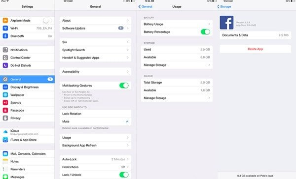 Clear APP Cache of Facebook