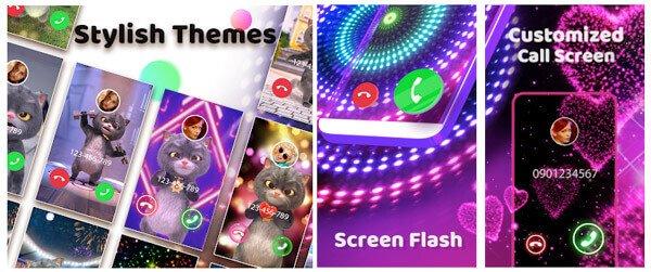 Couleur téléphone flash