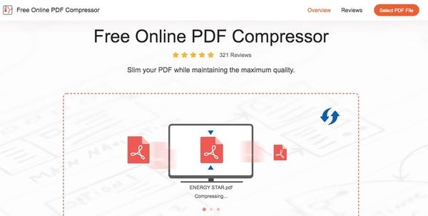 Compressez PDF en ligne