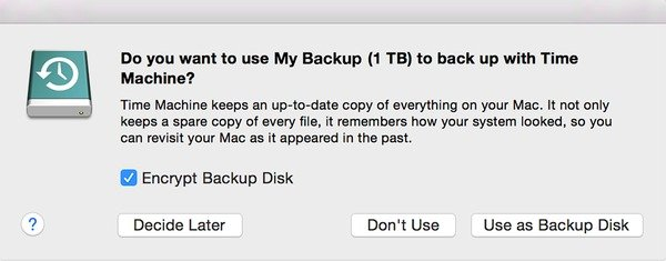Backup & Restore Mac with Time Machine