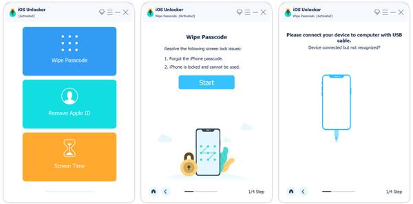 Connecter un appareil iOS