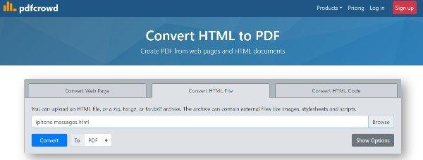 Konvertieren Sie Ttml-Nachrichten in PDF