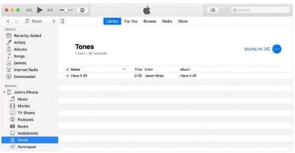 Créer des sonneries iPhone avec iTunes