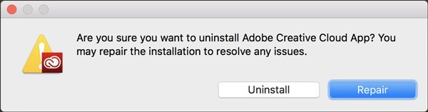 Creative Cloud Uninstaller App