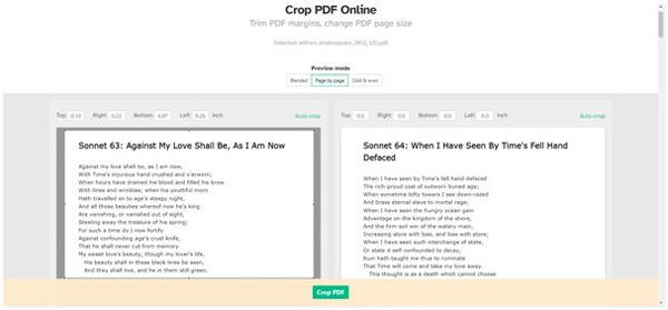 Crop pdf gratuit en ligne