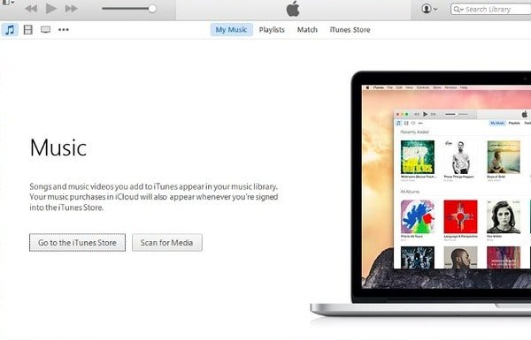 Remove all songs from iTunes on Windows