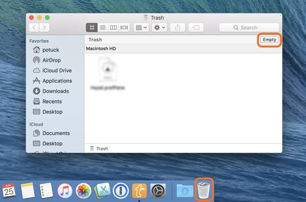 Macでアプリを削除する