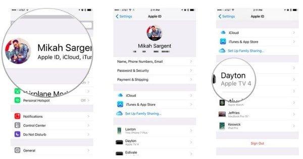 Apple ID-Konto löschen