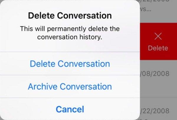 Facebook-Konversationen löschen