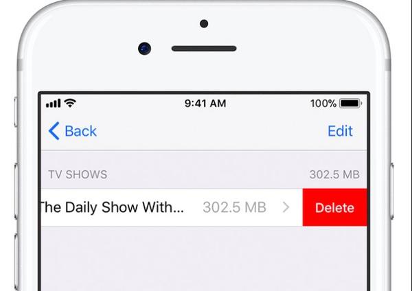 Supprimer des films d'iTunes sur l'iPhone