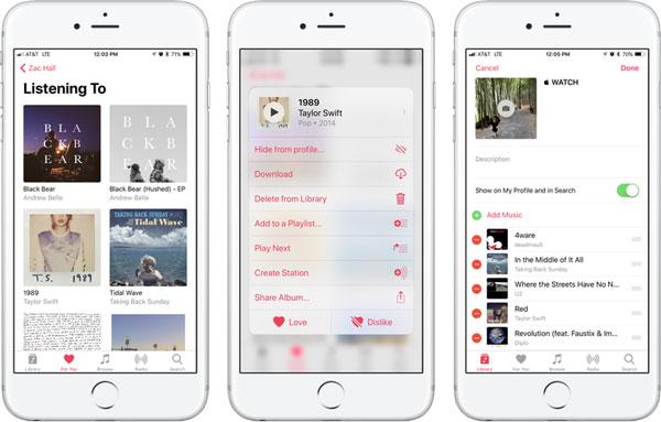 Supprimer des émissions télévisées d'iCloud via Apple Music