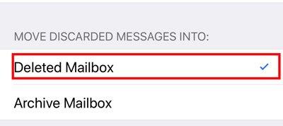 削除されたメールボックス