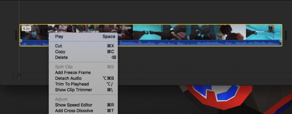 Détacher l'audio de la vidéo