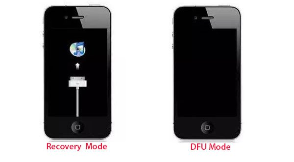 DFU mode and Recovery mode