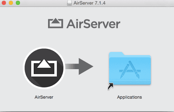 Download AirSever on computer
