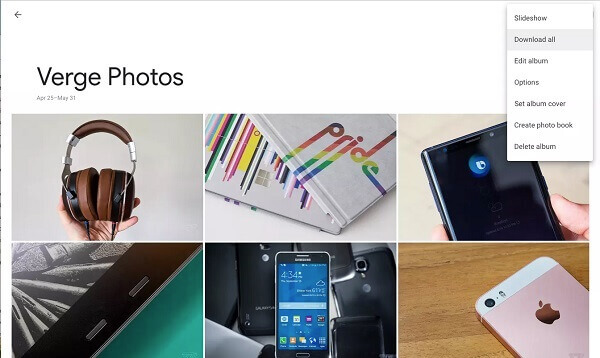 Download All Google Photos