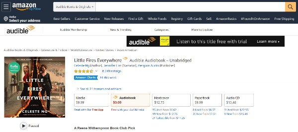 Download amazon audiobooks from prime list