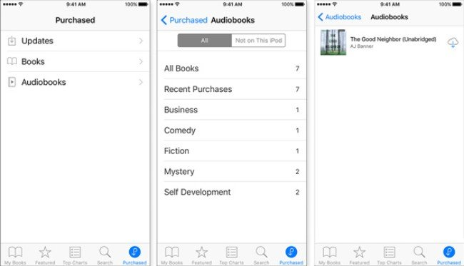 Download audiobooks on iphone