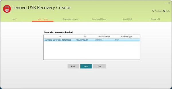 lenovo recovery partition windows 8.1