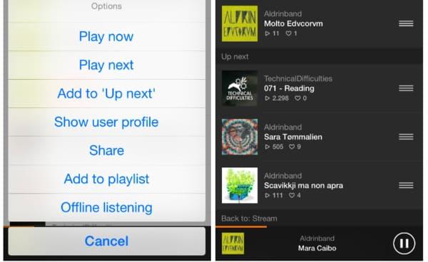 download soundcloud playlist iphone