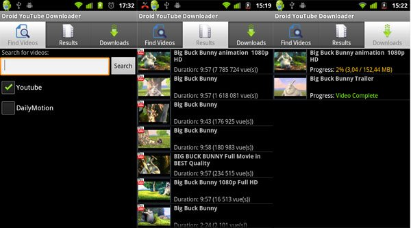 Droid Youtube-Downloader