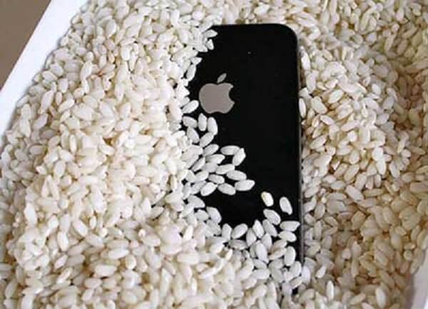 Trockenes iPhone