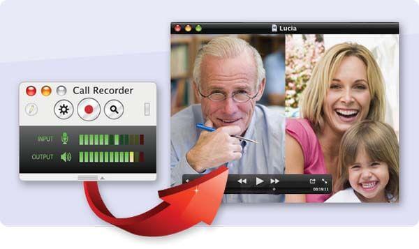 Enregistreur d'appels Ecamm pour Skype