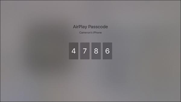 Entrez le mot de passe dans l'iPad
