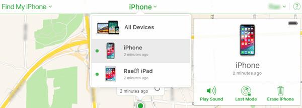 Effacer l'iphone