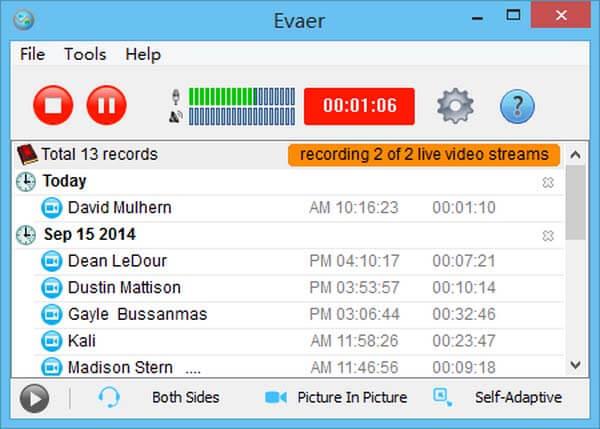 Enregistreur Evaer Skype