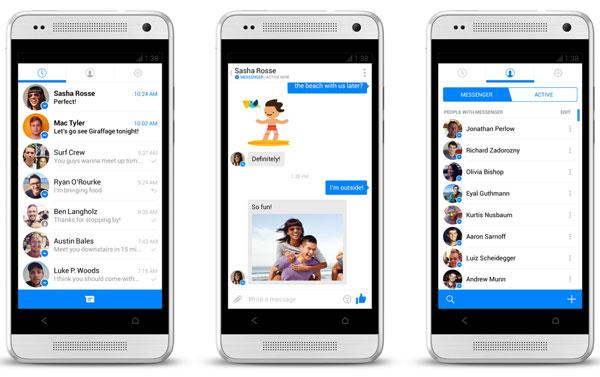 ビデオチャットアプリFacebook Messenger
