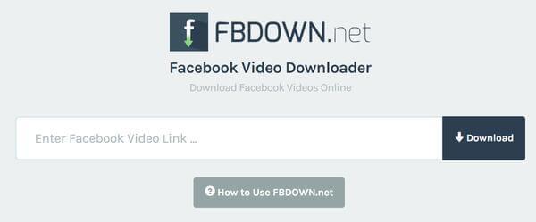 Laden Sie öffentliche Facebook-Videos herunter