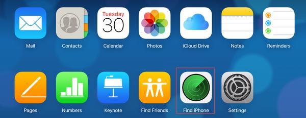 Einloggen iCloud